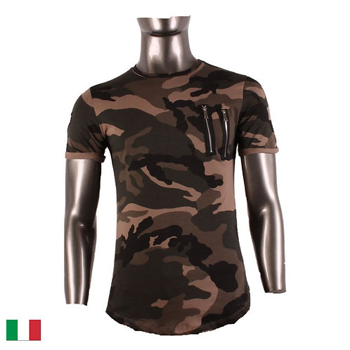 T-Shirt Moro Zipper