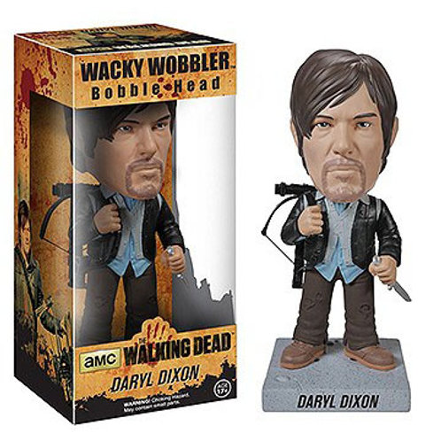 The Walking Dead Wacky Wobbler Bobble-Head New Biker Daryl 18 cm
