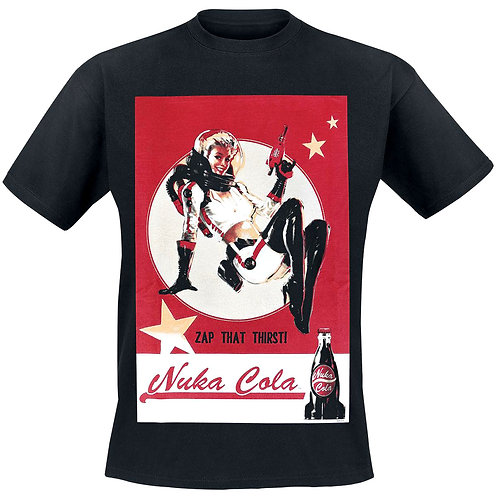 Fallout 4 Nuca-Cola Lady T-Shirt