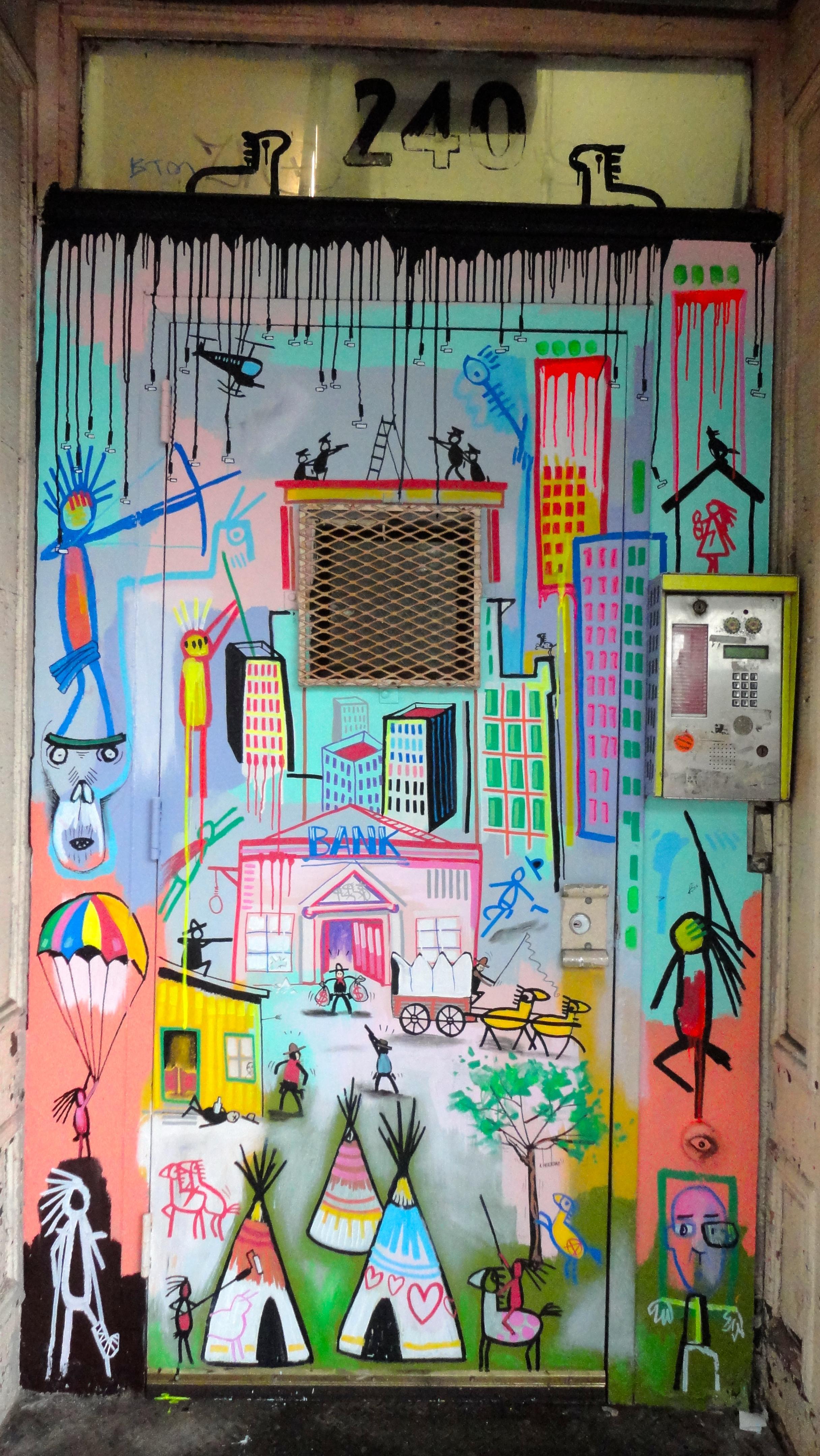 Door, 240 Broadway Studios