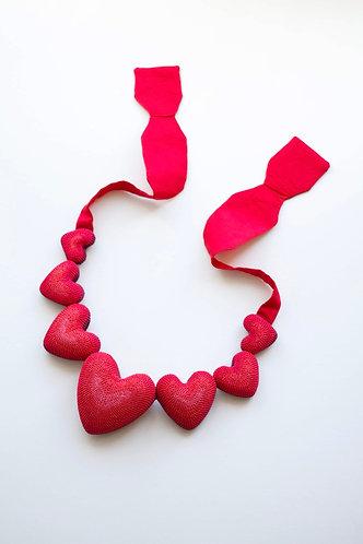 7 Dwarfs Hearts Necklace