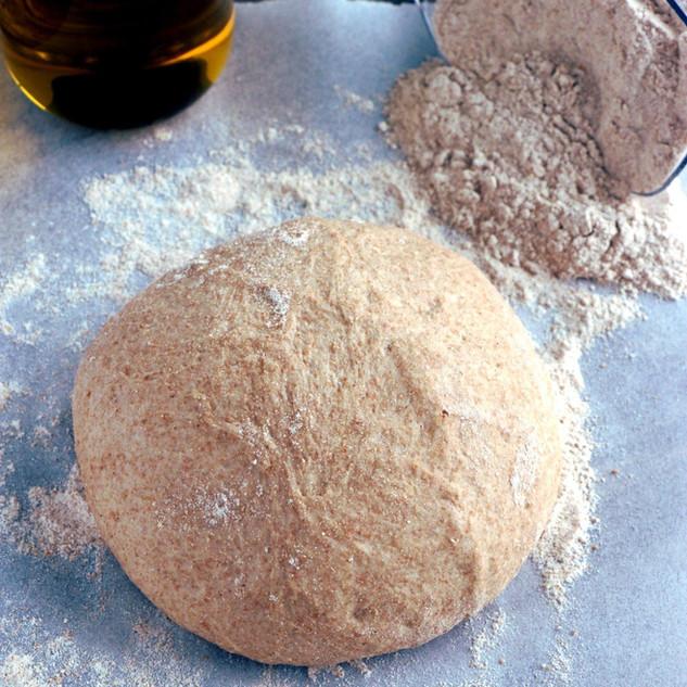 Pizza dough whole wheat flour