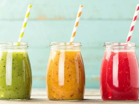 Mes 3 recettes préférées de jus à l'extracteur, pour le plein de vitamines et de sels minéraux