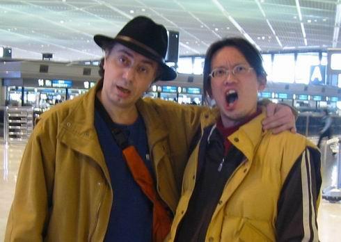 師匠(友人?ワルイ兄貴?笑)とツーショット(2007)
