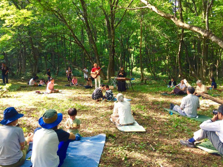 福井県六呂師高原 「ハックルベリーの森」