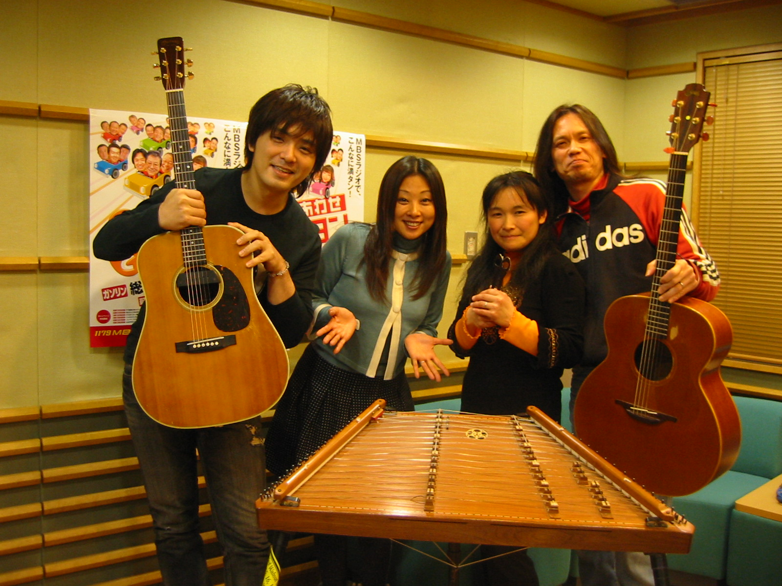 MBS毎日放送(大阪市)にて(2009)