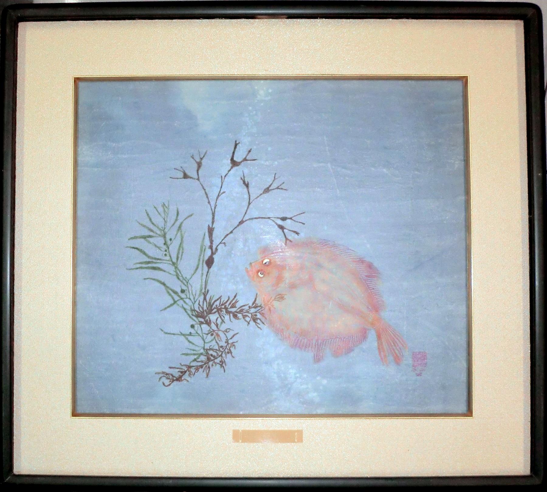 Flounder & Algae