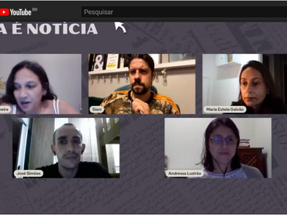 Devir Educom participa de debate virtual do projeto de Educação de Jovens e Adultos (EJA) de Santos