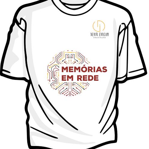 Camiseta Memorias em Rede