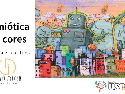Oficina do Devir Educom aborda semiótica das cores na escola e sua importância na aprendizagem