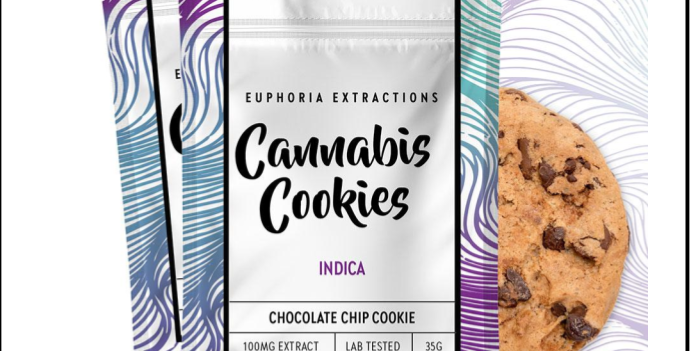 100mg Indica Chocolate Chip Cookie