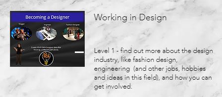 Working in Design