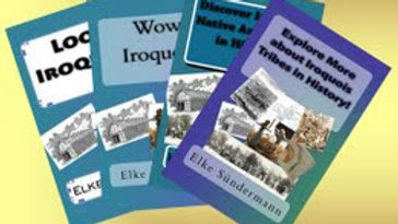 Discover Iroquois Tribes (with ELA questions)