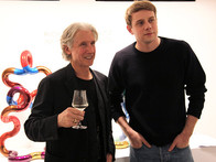 Jonathan Anderson and Richard X Zawitz at Opening Night