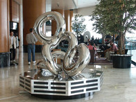 2003, Renaissance Harbour View, Hotel, Hong Kong, stainless steel, 8ft (W) x 10ft (H)