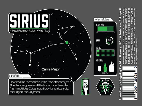 Sirius - Mixed Fermentation Wild Ale