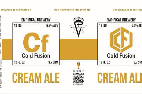 Cold Fusion - Cream Ale