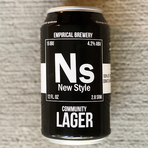 New Style Community Lager