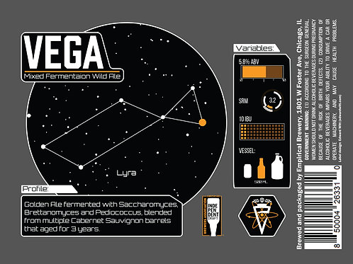 Vega - Mixed Fermentation Wild Ale