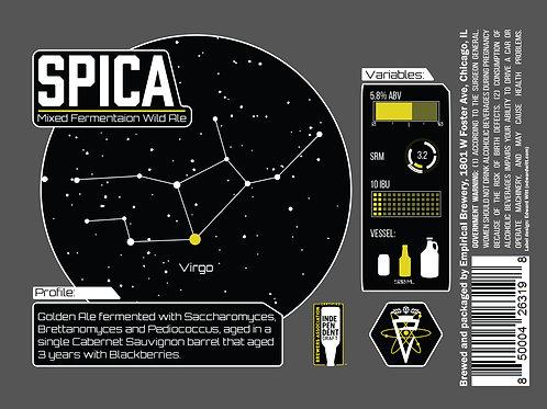 Spica - Mixed Fermentation Wild Ale w/ Blackberries