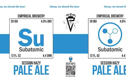 Subatomic - Session Hazy Pale Ale