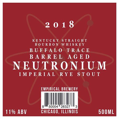 2018 B.A. Neutronium - Barrel Aged Imperial Rye Stout