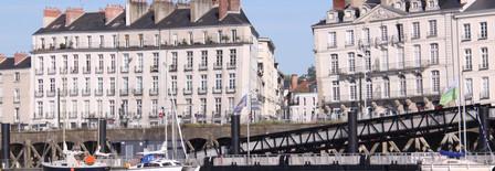 Vue sur la ville de Nantes