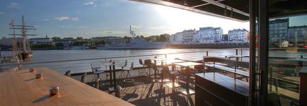 Terrasse parfaite sur la Loire