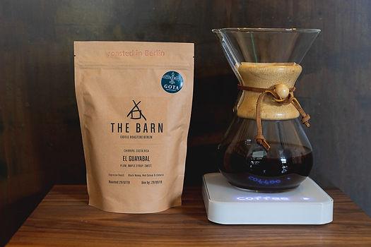 The Barn coffee at GOTA coffee Vienna