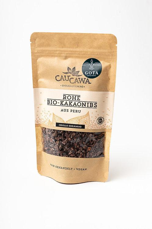 Raw organic cocoa nibs