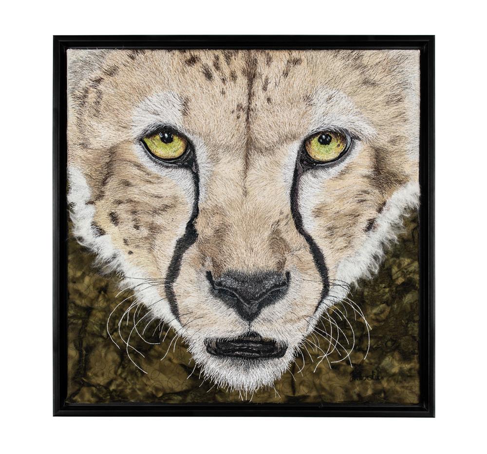 African Cheetah Portrait
