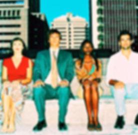 Fyra personer