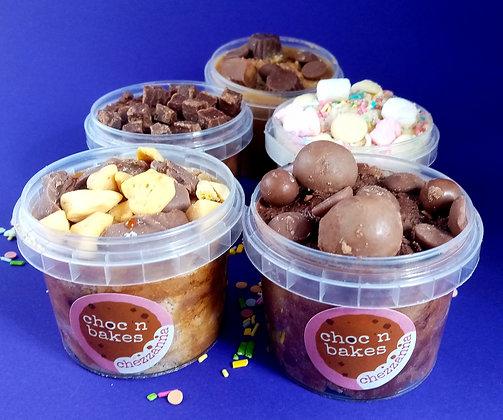 5 Pots of Cookie Dough (120g)