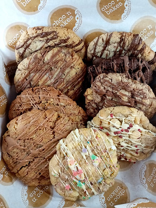 9 x cookies