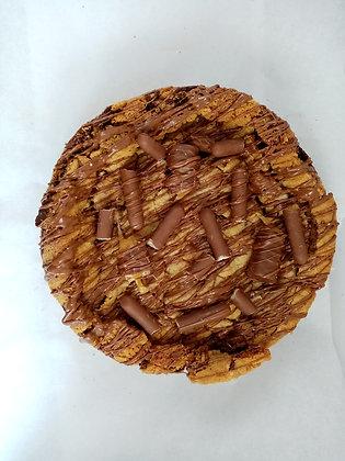 Twix & Choc spread Cookie Pie