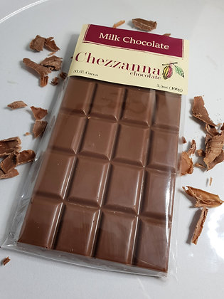 Belgian Milk Chocolate 100g Bar