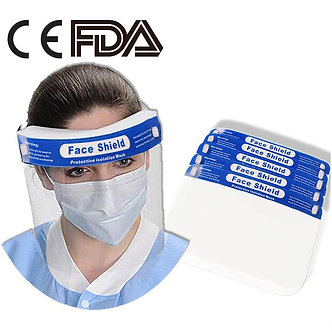 Fusion FaceShield Protection Hats 10/package