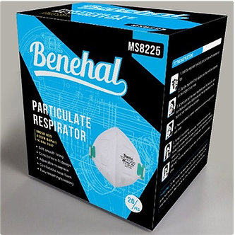 Benehal Disposable N95 Particulate Respirator 20/Box