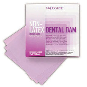 DENTAL DAM NON LATEX POWDER-FREE BOX/15 SHEET