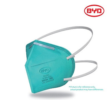 BYD N95 Particulate Respirator (non-sterile) - Foldable NIOSH approved.