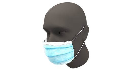 GS 3 Ply Surgical Mask Level 3 (Box of 50)