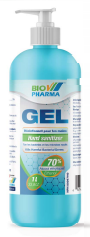 Hand Sanitizer Gel Biov Pharma 70% alcohol 1 Litre Bottle
