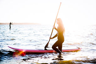 Girl on SUP