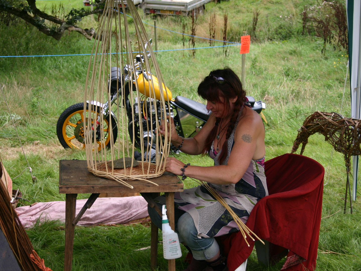 Basket Weaving Oak fair