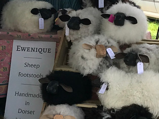 Handmade sheep furniture Oak Fair