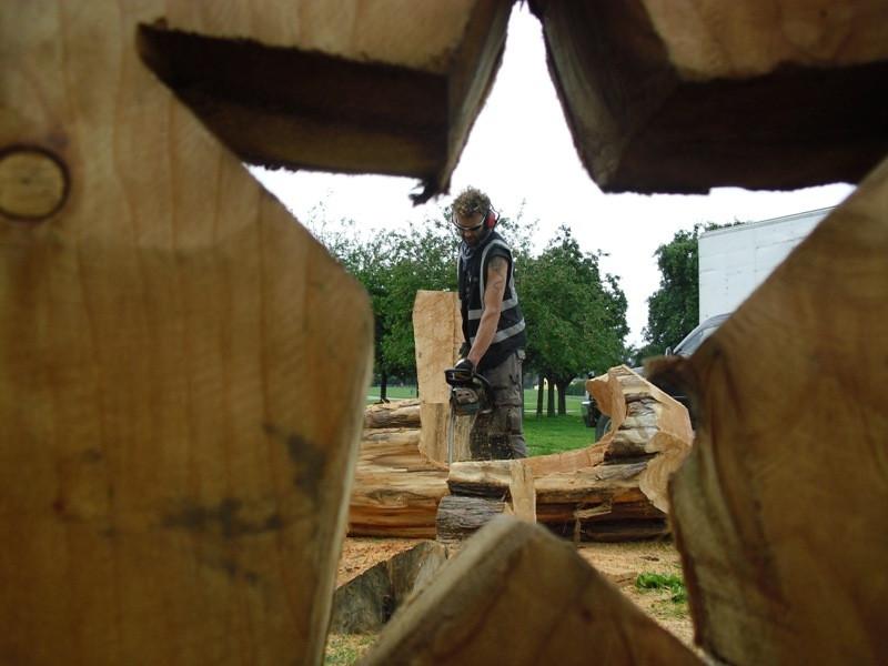 Tree pirates at The Oak fair