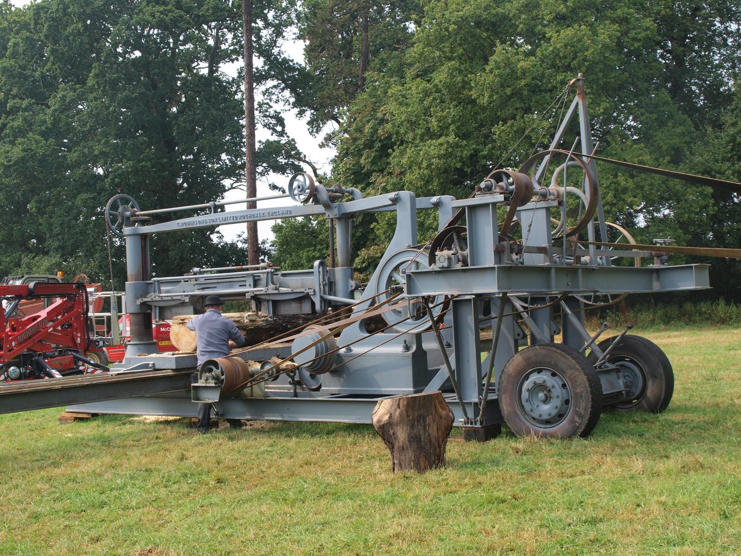 Planking Machine Vintage Oak Fair