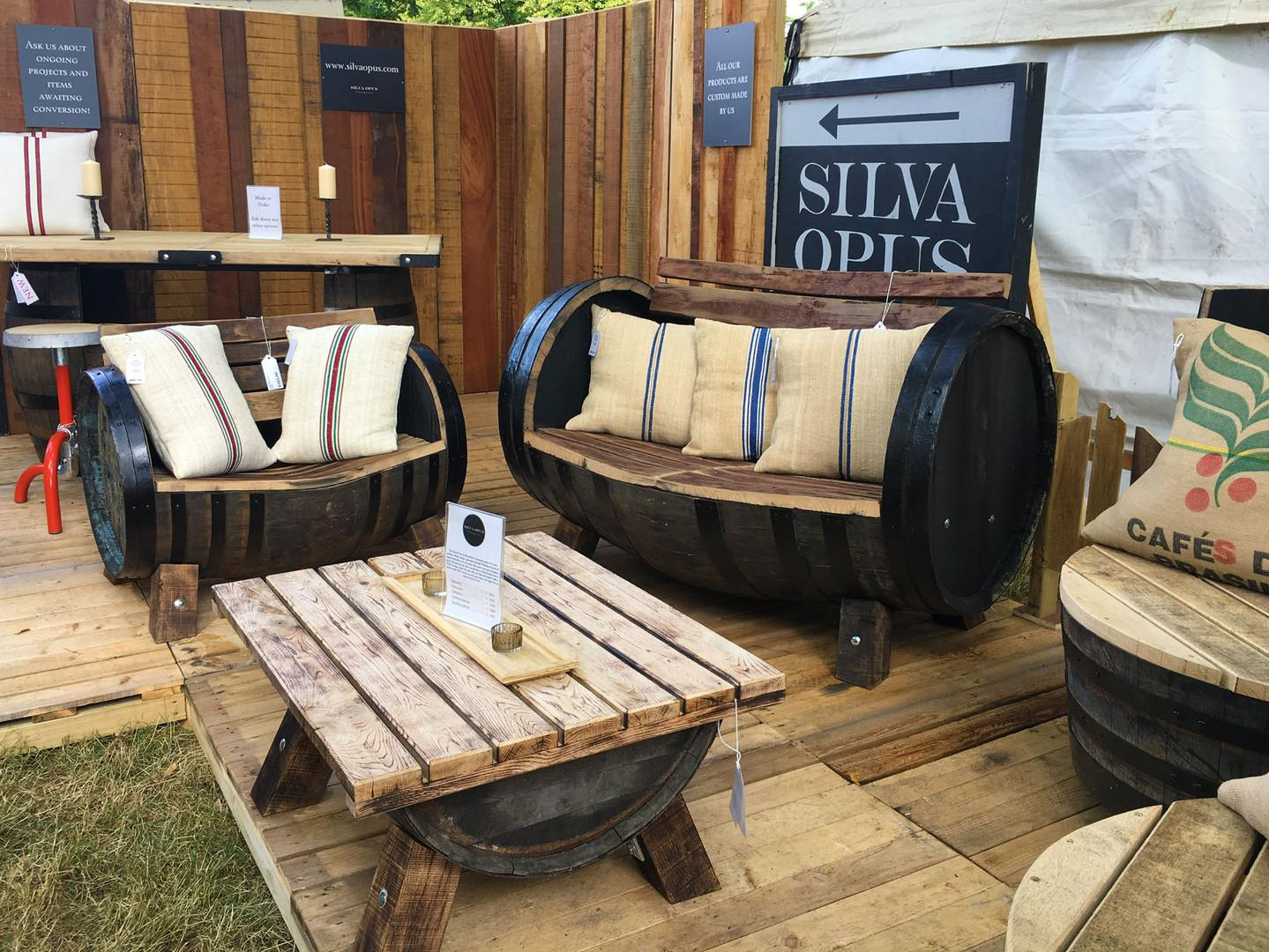 Barrel Furniture Craft Handmade