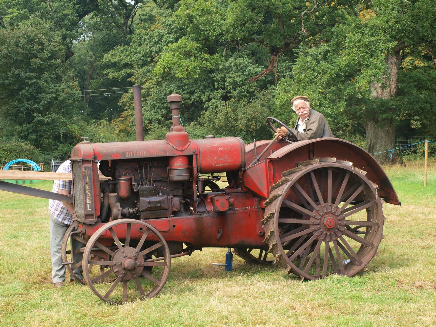 Vintage Tractor The Oak Fair