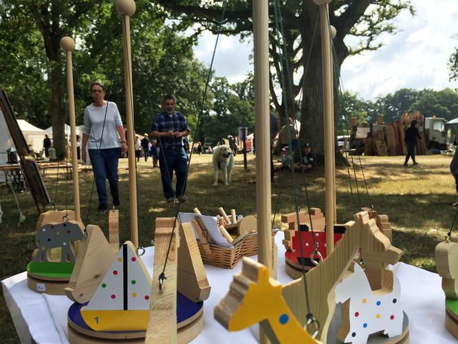 Wooden Toys at Oak Fair